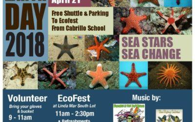 Earth Day of Action & EcoFest – Saturday April 21 starting at 9:00 AM