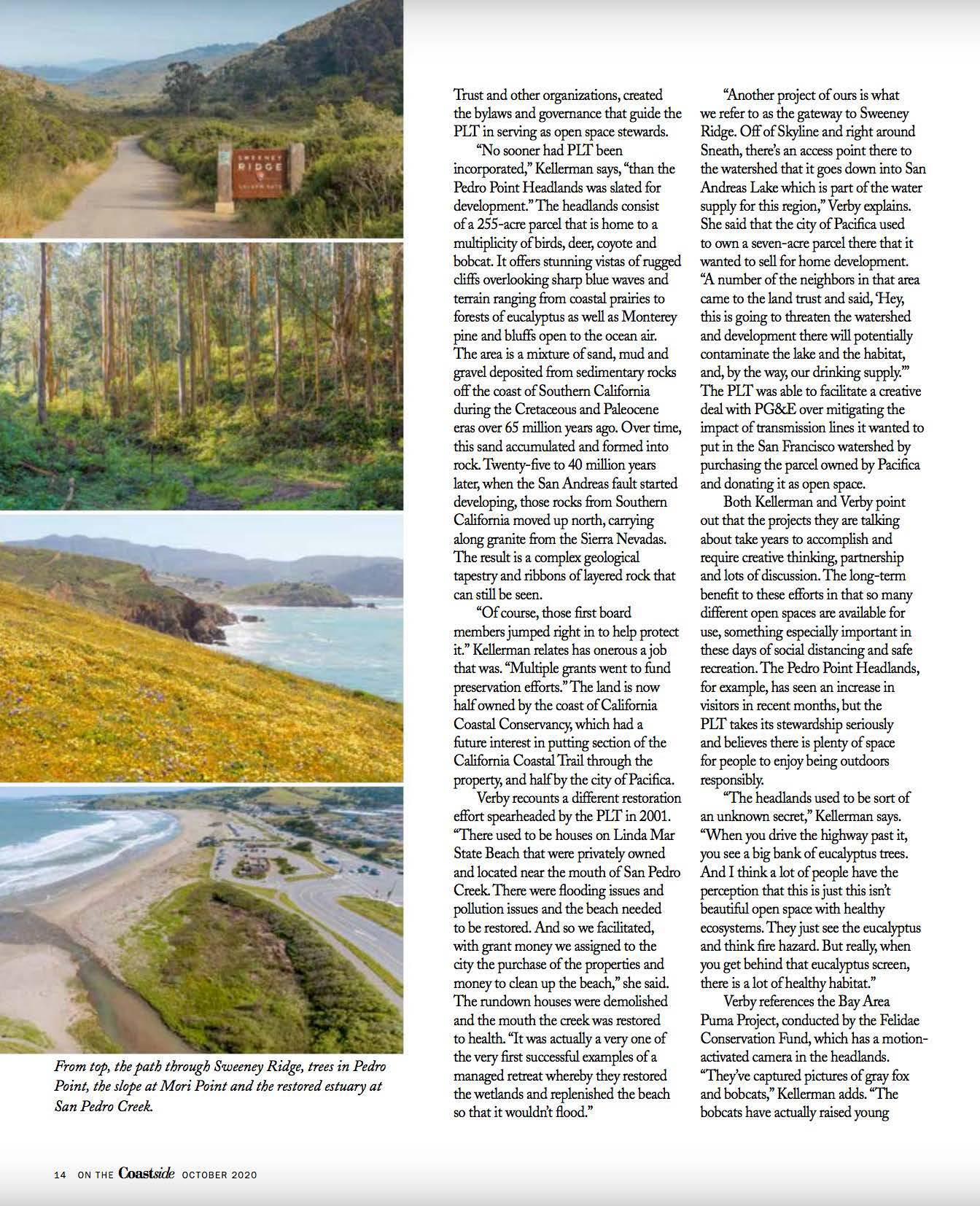 Coastside Magazine PLT Pages